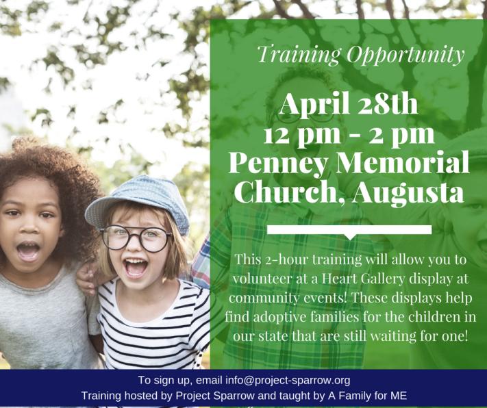 April Training Facebook Ad