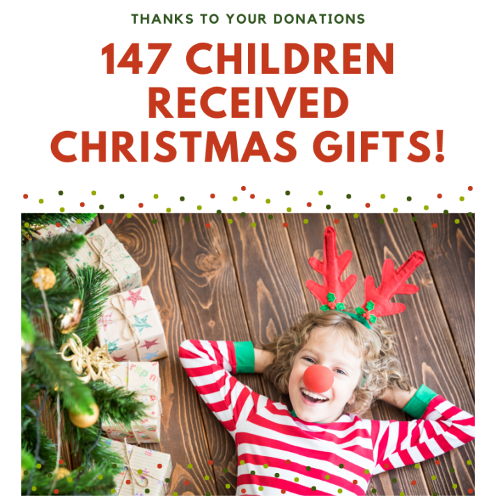 147 Children were served!